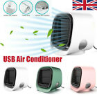 Portable Air Cooler USB Mini Air Conditioner Humidifier Purifier Cooler Fan UK