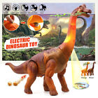 Dinosaur Toys Motor Electric Cry Lamplight Can Laying Egg Merry Christmas Gift
