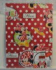 Children%27s+Disney+Gift+Wrap+Sheets+%26+tags+x+2+-+Minnie+Mouse+in+red