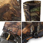 Outdoor Hiking Boot Gaiters Snow Waterproof Leg Legging Cover Camouflage Camping