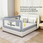 150/180cm Toddler Bed Rail Guard Baby Safety Bedrails Swing Down Anti Falling