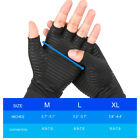 Copper Compression Infused Gloves Hand Joint Carpal Tunnel Arthritis Support New