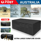 Outdoor Waterproof Furniture Cover Patio Garden Rain Snow Uv Table Sofa Couch