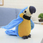 Electronic Talking Parrot Plush Toy Sound Record Repeat Speaking Toys kids #PT