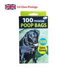Doggy Bags Extra Strong, Lemon Scent Dog Puppy Waste Bags Easy Tie Poo Bags