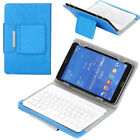 "For Lenovo Tab 2 3 4 M7 M10 7.0""/10.1inch Tablet Keyboard Case Folio Stand Cover"