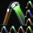 7-Color LED Bathroom Shower Heads High Turbo Pressure Anion Stone Filter Water
