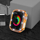 For Apple Watch Series 6/5/4/3/2 Diamond Bling Crystal iWatch Bumper Case Cover