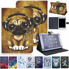Printed Leather Stand Cover Folio Case For Samsung Galaxy Tab 7/8/10.1in Tablet