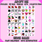 Adopt Me LOT | Strollers | Pet Wear | Food | Gifts | Collector Items | HUGE SALE <br/> Sorted A-Z, Restocks Daily, Extremely Collectible Items