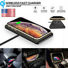 Wireless Car Desk Charging Mat Pad Mount Stand Fast Charger For iPhone Samsung