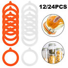 Silicone Jar Seals Canning Replacement Gaskets Rings Airtight Fits Regular Mouth