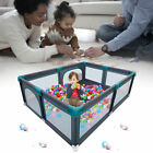 Extra Large Baby Playpen Toddlers Safety Play Yard with Gates  Anti-Slip Base