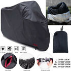 Motorcycle Motorbike Cover 190T Waterproof UV Protection Cover With Lock Holes