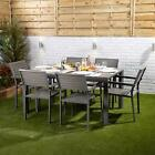 Garden Dining Furniture Set 4-6 Seater Choice Of Table Style Rust Resistant Slat