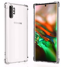 For Galaxy Note 10 Plus Hybrid Shockproof Protection Clear Armor Tough TPU Case