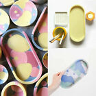Silicone Ashtray Oval Coaster Mold Tray Epoxy Resin Diy Craft Tool Jewelry Mould