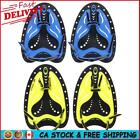 Silicone Swimming Hand Webbed Diving Gloves Fin Flipper Water Learn Trainer CA