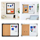 Magnetic Whiteboard Cork Board Wall Hanging Dry Erase Board for Home Office