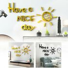 Acrylic Mirror Wall Stickers Living Room Home Decor Diy High Quality Hot Sale