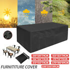 Waterproof Outdoor Furniture Cover Garden Patio Rain Uv Table Chair Protector Au