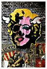 DFACE MARILYN CANVAS GRAFFITI URBAN STREET ART PRINT