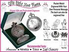 Engraved Pocket Watch Grandfather of the Bride Gift S