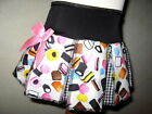 New Girls Black,Pink,White sweet Cheerleader Skirt,Rock