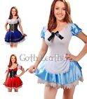 Sexy Alice in wonderland Fancy Dress Costume S-6XL A016