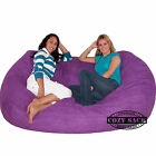 Large Bean Bag Chair Factory Direct Cozy Sack 7 Cozy Foam Filled Comfort