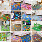 Childrens Kids Rugs Boys Girls Play Mat Bedroom Playroom Roads Alphabet Farm Rug