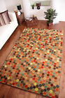 Beige Colourful Modern Polka Dot Rug Soft Quality Odessa Mat Small Large 3 Sizes