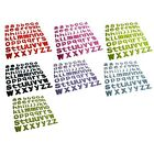 56 Pcs x Crafts 3D Party Lower Case alphabet letter Self Adhesive Stickers