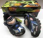 Skechers Boys Spaceship Blk Multi Flashing Velcro Trainers **New In** UK 9.5-6