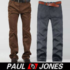 Hot Choice Mens Fashion Slim Fit Casual Pants Comfty Trousers