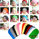 BN104 13 - Color Chioce Cotton Baby Long Beanie Hat Cap Skull Winter Unisex NWT