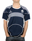Great Gift: Mens Rugby Nations Scotland Top Navy Crew Neck