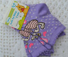 PJs ♥♥ LAVENDER ♥♥ BABY DISNEY ♥♥ 2 PAIRS SOCKS ♥♥ Choose Size 0-24 Months