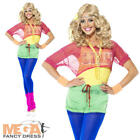 Let's Get Physical 80s Ladies Fancy Dress 1980s Oliva eighties Party Costume