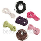 10meters 7 Colors Corduroy Rope Thread For Making Making Bracelet/Necklace 1.0mm