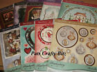 Hunkydory Elegant Christmas Topper Sheet & 2 A4 Blanks Various Designs