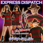 HALLOWEEN FANCY DRESS COSTUME A NIGHTMARE ON ELM ST MENS LADIES FREDDY KRUEGER