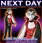 HALLOWEEN FANCY DRESS ~ BOYS VAMPIRE COSTUME  Age 5-6 7-8 9-10 11-12 FDDD