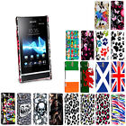 FOR SONY XPERIA U ST25i STYLISH PRINTED HARD SHELL CASE PROTECTION COVER