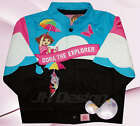 Dora The Explorer Rainbow Cotton Twill Girl's Jacket Pink/Baby Blue Retail $120