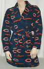 Chicago Bears Women's Robe MicroFleece Bathrobe Scoreboard NFL