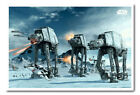 Framed Star Wars Hoth Movie Poster Ready To Hang - Choice Of Frame Colours