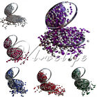 1000 4.5mm 1/3ct Wedding Diamond Confetti Party Scatter CRYSTAL &silver Decor
