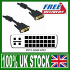 DVI i Digital Analogue Cable DVI-I Male Dual Link Cable 29 PIN in 2 3 5 Metre