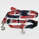 ST. LOUIS CARDINALS Dog Collar & Leash & ID Tag,  Pet Set MLB Licensed *NEW*